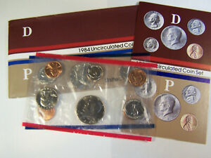1984 U.S. UNCIRCULATED MINT SET       10 COINS