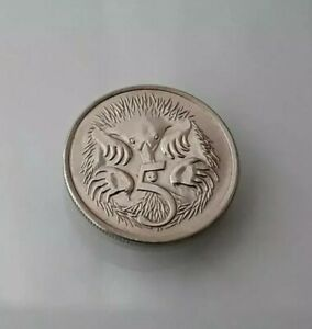 1980 AUSTRALIAN 5 CENTS COIN COPPER NICKEL ELIZABETH II