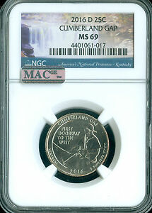 Click now to see the BUY IT NOW Price! 2016 D CUMBERLAND QUARTER NGC MS 69 FINEST GRADED SPOTLESS .
