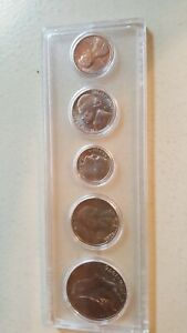 1776 1976 US BICENTENNIAL COINAGE COLLECTION 5 COIN SET