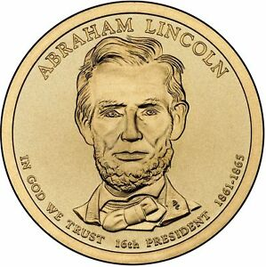 2010 D ABRAHAM LINCOLN PRESIDENTIAL DOLLAR UNCIRCULATED COIN B.U.