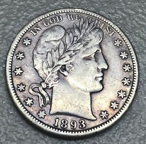 Click now to see the BUY IT NOW Price! 1893 O  BARBER HALF    XF  DATE