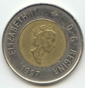 CANADA 1997 TOONIE CANADIAN $2 DOLLARS TWONEY TOONY TWO EXACT COIN PICTURED