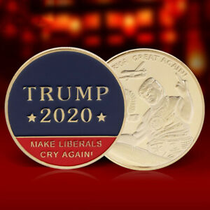 2020 TRUMP MAKE AMERICA GREAT AGAIN PRESIDENT COMMEMORATIVE COINS COLLECTION NEW
