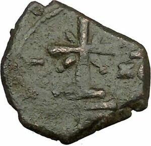 MANUEL I  COMNENUS  1143AD  ANCIENT BYZANTINE AUTHENTIC COIN CROSS I38034