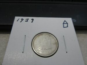 1939   CANADA DIME   SILVER CANADIAN 10 CENT COIN