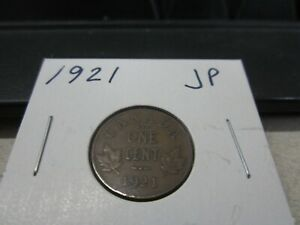 1921   CANADIAN PENNY   CANADA ONE CENT   CIRCULATED