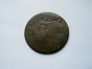 1825 LOWER CANADA 'TO FACILITATE TRADE' HALF PENNY TOKEN   OPEN SLEEVE LC 53A