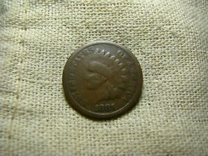 OLD VINTAGE  US 1881 INDIAN HEAD PENNY  COMBINED SHIPPING  9644