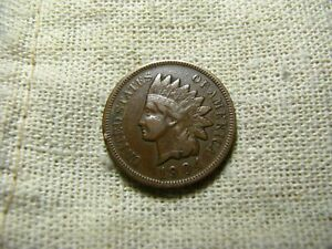 OLD VINTAGE  US 1904 INDIAN HEAD PENNY  COMBINED SHIPPING  9675