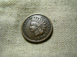 OLD VINTAGE  US 1905 INDIAN HEAD PENNY  COMBINED SHIPPING  9677