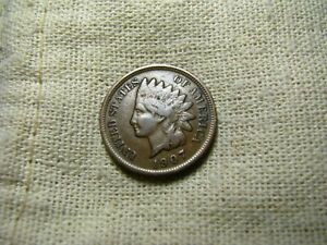OLD VINTAGE  US 1907 INDIAN HEAD PENNY  COMBINED SHIPPING  9681