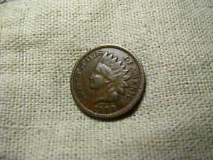OLD VINTAGE  US 1908 INDIAN HEAD PENNY  COMBINED SHIPPING  9683