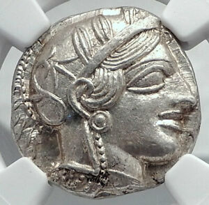 Click now to see the BUY IT NOW Price! ATHENS GREECE 440BC ANCIENT SILVER GREEK TETRADRACHM COIN ATHENA OWL NGC I80779
