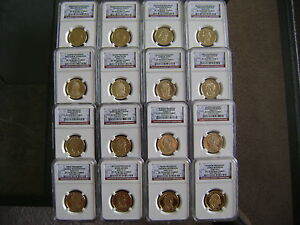 Click now to see the BUY IT NOW Price! 2007 2008 2009 2010 S NGC PF70 ULTRA CAMEO PRESIDENTIAL 16 COIN DOLLAR PROOF SET