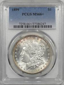 Click now to see the BUY IT NOW Price! 1899 MORGAN DOLLAR PCGS MS 66