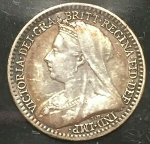 GREAT BRITAIN PENNY KM 775 1893 PROOFLIKE MAUNDY