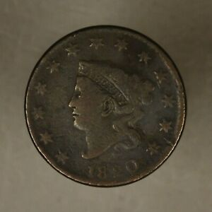 1820 LARGE CENT LARGE DATE