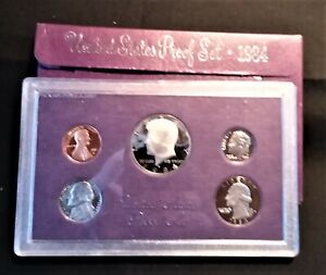 1984 S UNITED STATES MINT PROOF SET WITH ORIGINAL MINT PACKAGE