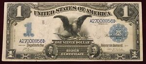 1899 BLACK EAGLE SILVER CERTIFICATE LARGE NOTE    FREE    S/H
