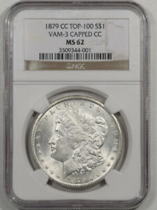 Click now to see the BUY IT NOW Price! 1879 CC MORGAN DOLLAR VAM 3 CAPPED CC TOP 100 NGC MS 62