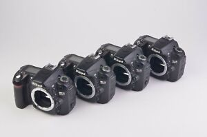 4X FOR PARTS OR REPAIR NIKON D80 10.2MP DSLR BODY ONLY POWER UP ERROR