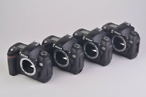 4X FOR PARTS OR REPAIR NIKON D70 6.1MP DSLR BODY ONLY ERROR  READ DETAILS