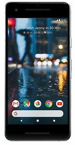 GOOGLE PIXEL 2 64GB CLEARLY WHITE  UNLOCKED  SMARTPHONE