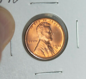 1942 D LINCOLN WHEAT CENT PENNY BLAZING BU MS   COIN 1942D