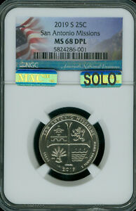 Click now to see the BUY IT NOW Price! 2019 S SAN ANTONIO QUARTER NGC MAC MS68 DPL PQ SOLO FINEST 10 X R THAN W