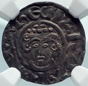 Click now to see the BUY IT NOW Price! JOHN KING OF ENGLAND IN NAME OF HENRY II 1207AD SILVER PENNY COIN NGC I81863