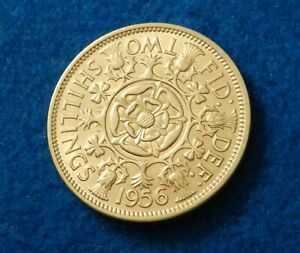 1956 GREAT BRITAIN FLORIN   SUPER COIN   SEE PICS