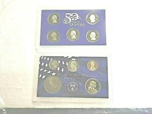 U.S. MINT 2003 PROOF SET WITH STATE QUARTERS   BEAUTIFUL SET   SEALED IN PLASTIC