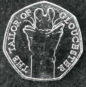 2018 TAILOR OF GLOUCESTER FIFTY PENCE