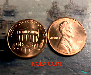2010 PENNY UNCIRCULATED   P   BUY 2 GET ONE FREE    BU   FIRST YEAR W/ SHIELD