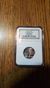 Click now to see the BUY IT NOW Price! 1999 MS68    PROOFLIKE    CONNECTICUT QUARTER