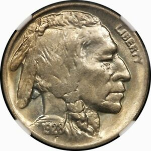1928 D 5C BUFFALO NICKEL NGC MS64  OLD TYPE COIN