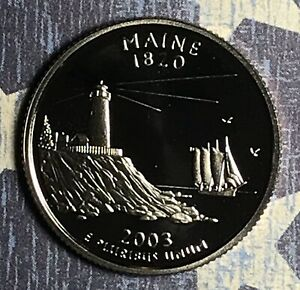 2003 S MAINE STATE QUARTER . COLLECTOR COIN FOR COLLECTION.