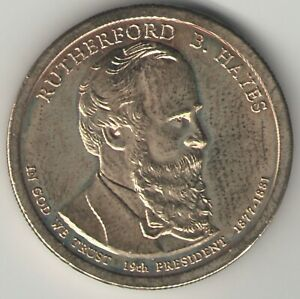 RUTHERFORD B. HAYES  2011 P PRESIDENTIAL DOLLAR COIN