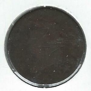 1810 CLASSIC HEAD LARGE CENT AG/G DETAIL