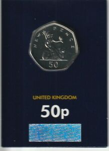 2019 NEW PENCE 50TH ANNIV  50P COIN BRILLIANT UNCIRCULATED CERTIFIED UK
