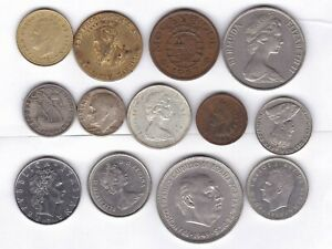 JUNK DRAWER WORLD LOT W/ 2 SILVER COINS.  READ MORE BELOW   COMBINED SHIPPING