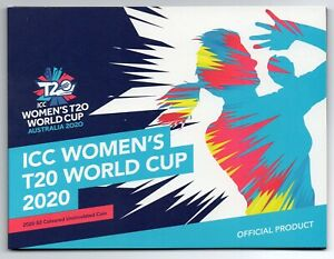 2020 AUSTRALIAN $2 ICC WOMEN'S T20 WORLD CUP COLOURED COIN  ON CARD LIMITED ED.