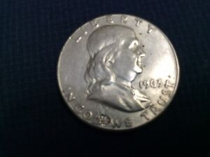 1963 FRANKLIN HALF DOLLAR WITH ERROR