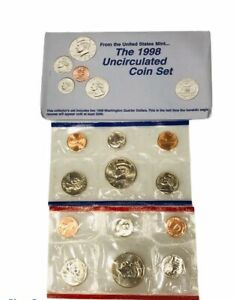 1998 UNITED STATES MINT SET  ORIGINAL PACKAGING