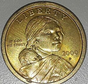 Click now to see the BUY IT NOW Price! 2000 P ONE DOLLAR SACAGAWEA GOLDEN DOLLAR