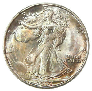 Click now to see the BUY IT NOW Price! 1937 S 50C PCGS MS 67   HIGH GRADE WALKING LIBERTY HALF DOLLAR