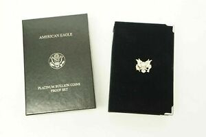1999 AMERICAN EAGLE 4 PLATINUM BULLION COIN PROOF SET BOX ONLY OGP & COA NO COIN