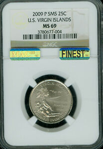Click now to see the BUY IT NOW Price! 2009 P VIRGIN ISLAND QUARTER NGC MS69 SMS PQ MAC FINEST REGISTRY MAC SPOTLESS .