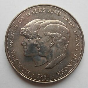 1981 CHARLES AND DIANA CROWN